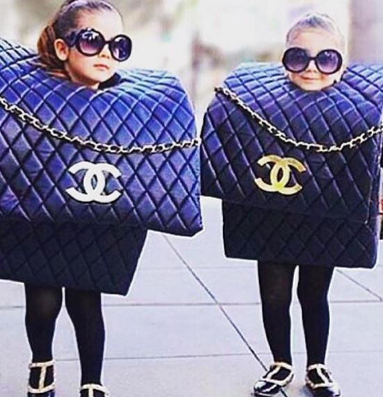 Halloween-Chanel-bags-costume
