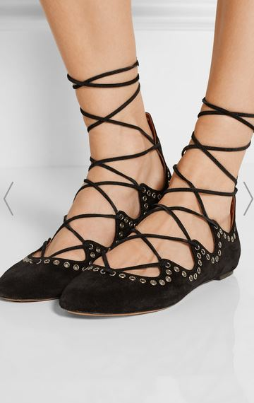Isabel-Marant-lace-up-flats