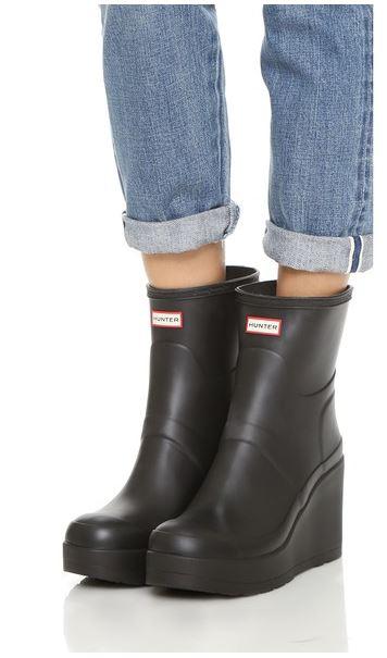 Hunter-wedge-rain-boots