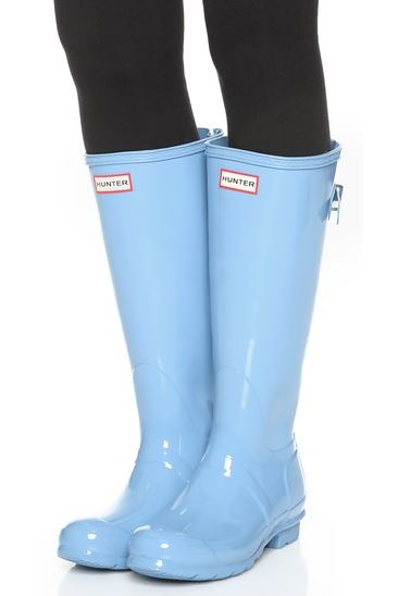 light-blue-hunter-rain-boots