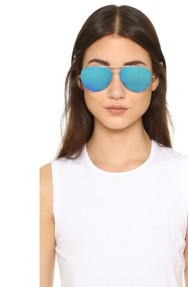 Oliver-Peoples-sayer-Mirrored-aviator-Sunglasses