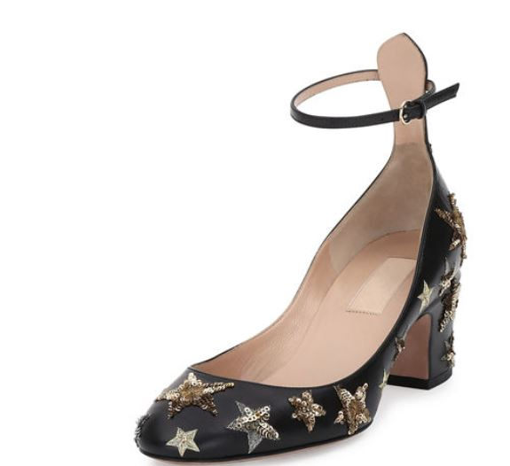 Valentino-star-studded-pumps