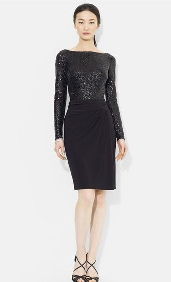 ralph-lauren-sequin-black-dress-sale