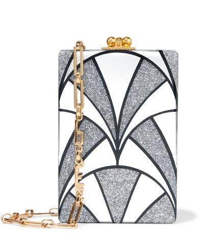 Edie-Parker-Carol Nouveau-Acrylic-Shoulder-Bag