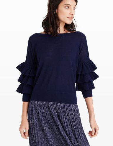cashmere-ruffle-sweater