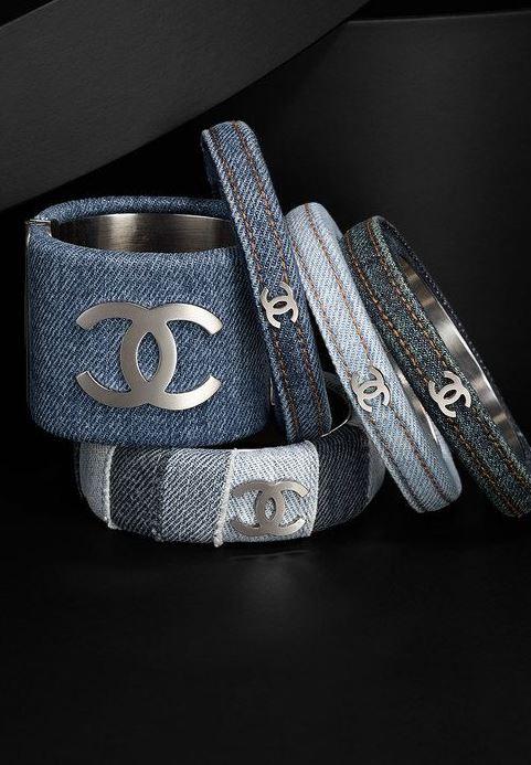 chanel-denim-bracelets