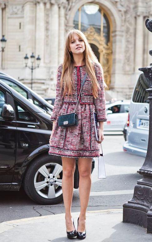 chanel-tweed-dress