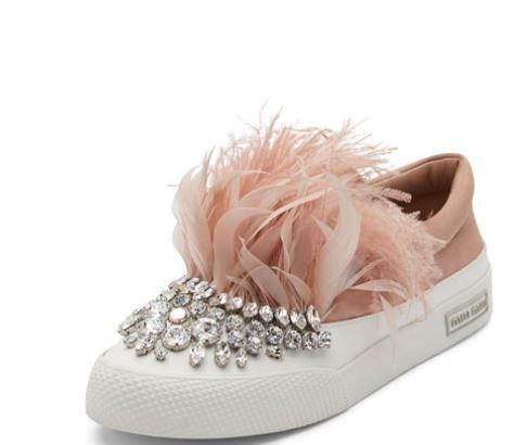 Miu-Miu-feather-sneaker